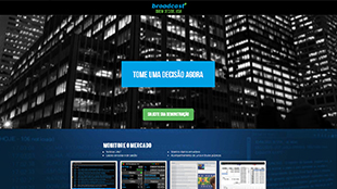 Landing page Broadcast+