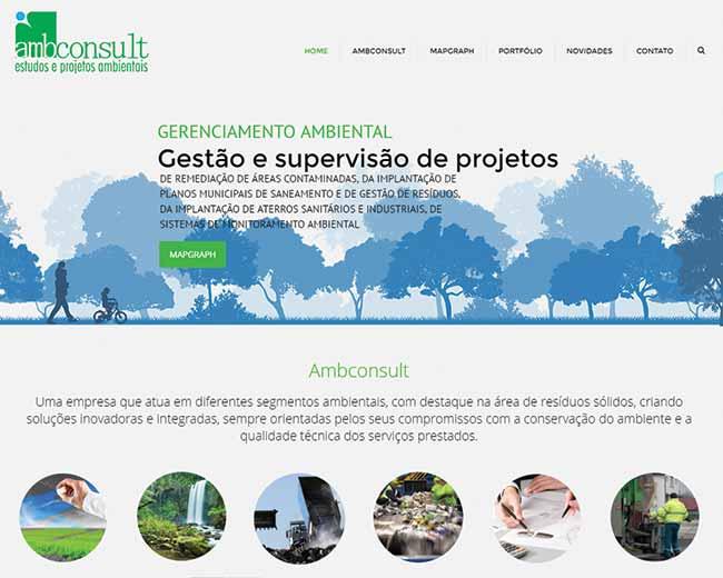 Site em Wordpress Ambconsult