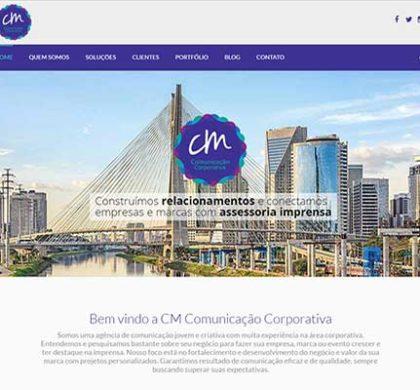 Website para a Cris Moraes Comunicação Corporativa