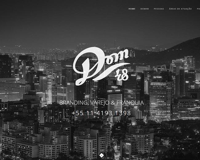 Site da Consultoria DOM48
