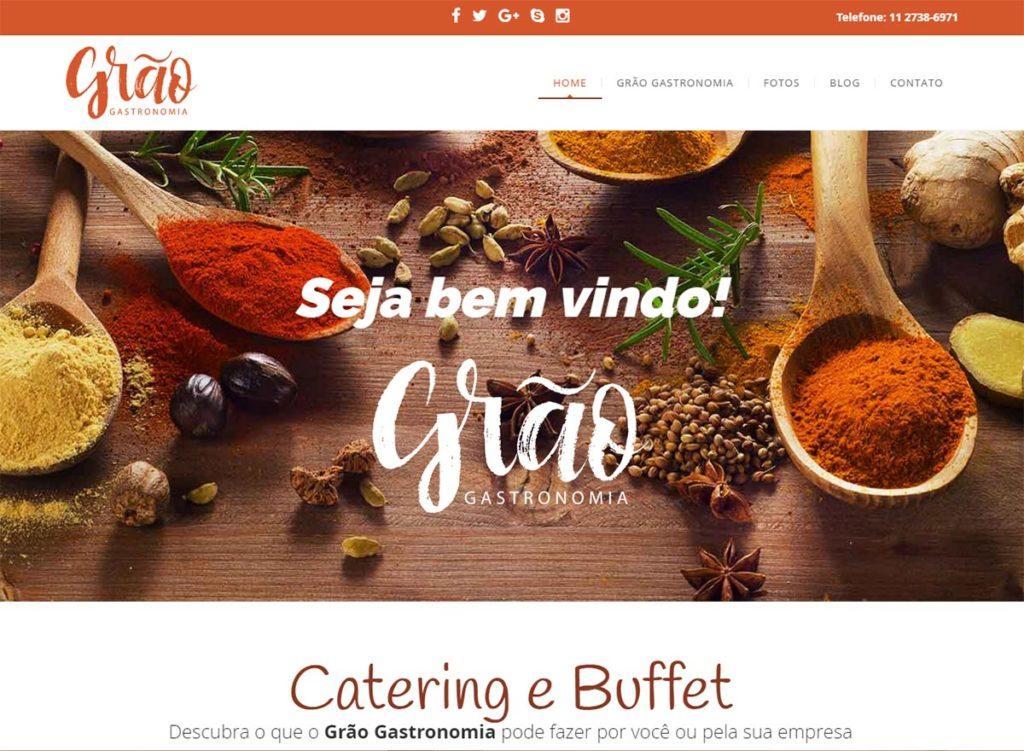 Site da Grão Gastronomia