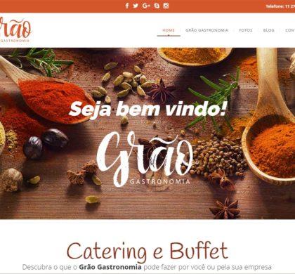 Site para Buffet e Catering