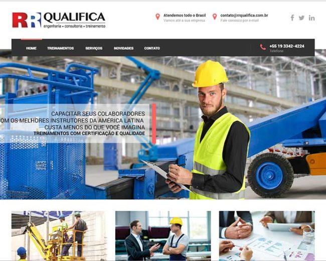 Construção de Site para Empresa de Treinamento Profissional