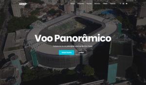 Desenvolvimento de site voo panorâmico
