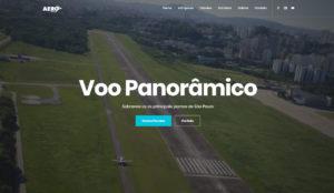 Criação de site para empresa de helicóptero