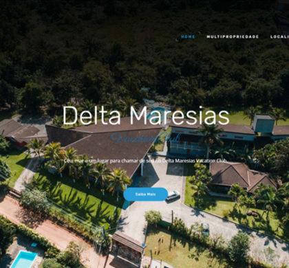 Site para Hotel em Maresias SP