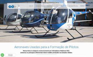 Escola de piloto de helicóptero