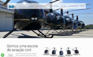 Criação de site para a GoAir