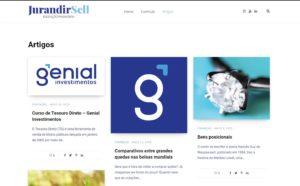 Criação do Blog do Jurandir Sell