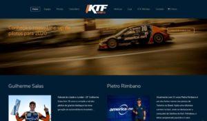 Criação de site para empresa de automobilismo