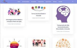 Criação de site personalizado para Consultoria