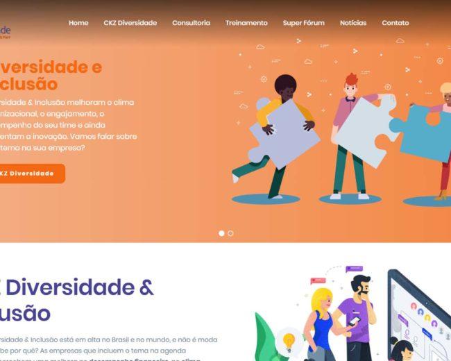 Desenvolvimento de Site para Consultoria em Diversidade e Inclusão