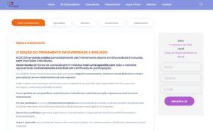 Personalização de site para o a CKZ Diversidade