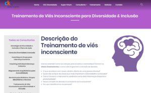 Criação de site personalizado para o a CKZ Diversidade e Inclusão