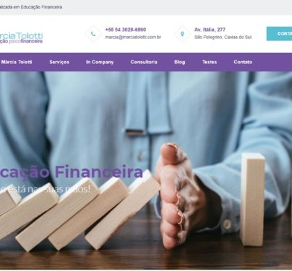 Criação de Site para Consultoria em Educação Financeira
