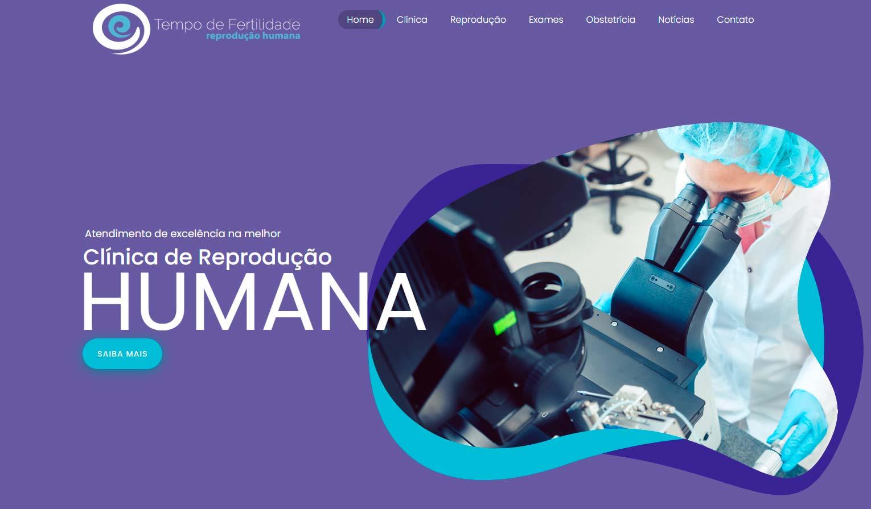 Site para Clínica Médica