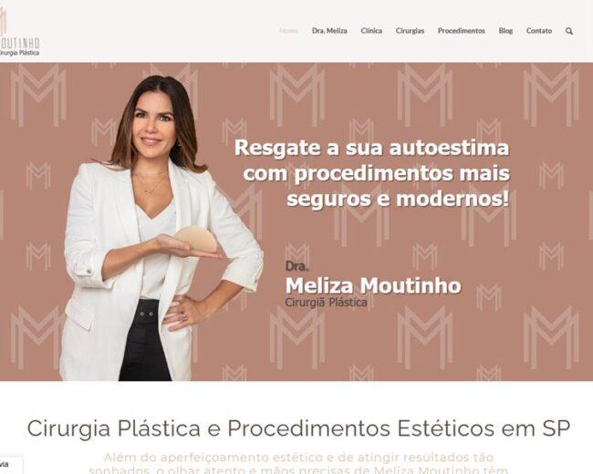 Criação de Site para Médica Cirurgiã Plástica