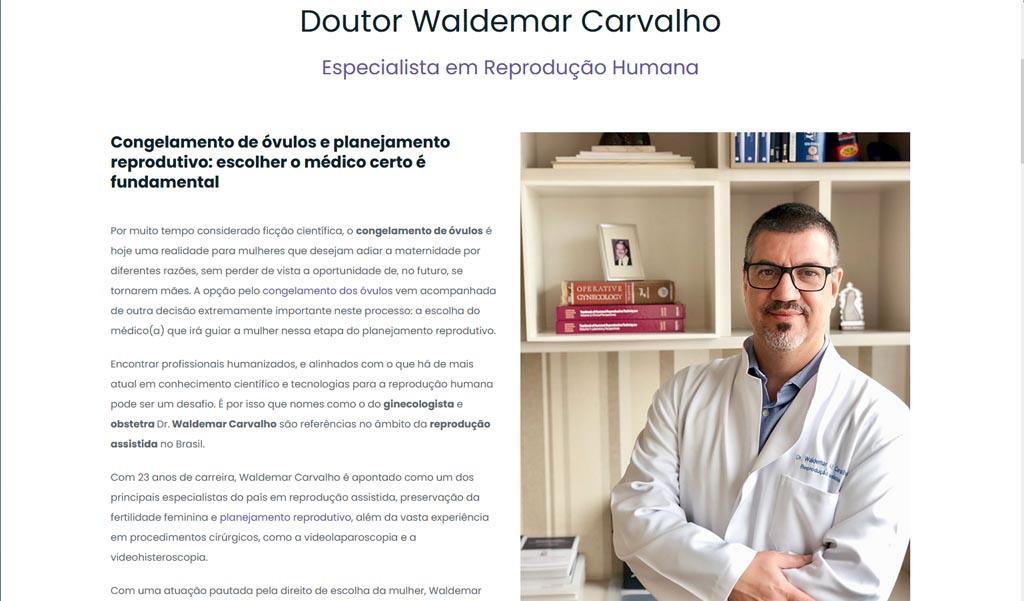 Dr Waldemar Carvalho